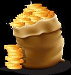 שק מטבעות